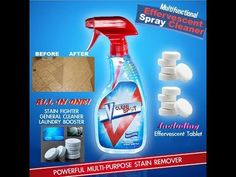 V Clean Spot - Multifunctional Effervescent Spray Cleaner - v clean spot - multifunktionaler brausespray-reiniger - v clean spot - nettoyant vaporisateur multifonctionnel effervescent Deep Cleaning Tips, House Cleaning Tips, Spring Cleaning, Cleaning Hacks, Cleaning Agent, Cleaning Solutions, Life Box, Floor Stain, Cleaning Painted Walls