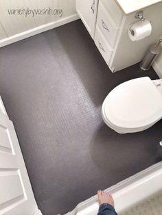 How I Painted Our Bath Tub, Tile & Floor DIY Under $30