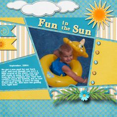 Fun in the Sun - Scrapbook.com