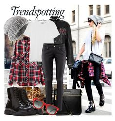 """""""Street today!!!"""" by electricgypsy77 ❤ liked on Polyvore featuring Melissa, McGinn, Jigsaw, Forever 21, McQ by Alexander McQueen, Michael Kors, Frame Denim, H&M and Ray-Ban"""