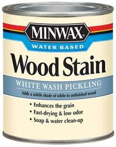 Favorite Neutral Paints & Stains | Full Hearted Home White Wash Stain, White Wash Brick, Minwax Colors, Stain Colors, Wood Picture Frames, Picture On Wood, Water Based Wood Stain, Minwax Stain, Rock Fireplaces
