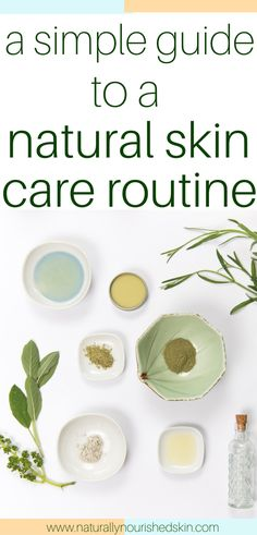 Learn how to easily transition into natural skincare! #naturalskincareroutine #diyskincare #cleanbeauty