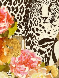 """Into The Wild"" Cozamia Art Print"