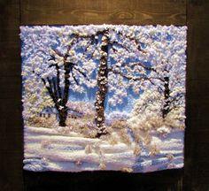 Gallery.ru / Фото #75 - TAPICES - griega Weaving Textiles, Weaving Art, Tapestry Weaving, Loom Weaving, Hand Weaving, Textile Fiber Art, Freeform Crochet, Tear, Weaving Techniques
