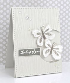 Thinking Of You Card by Michelle Leone for Papertrey Ink (March 2017)