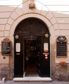 Osteria Le Mani in Pasta, Rome Trastevere