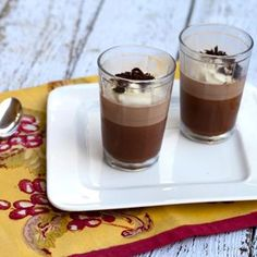 Chocolate & Amaretto Panna Cotta Recipe - ZipList