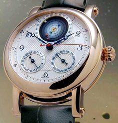 Christiaan Van Der Klaauw Planetarium Watch