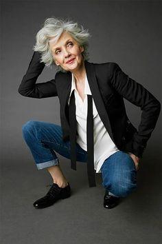 - Fashion For Old Women - Damenmode Fashion Moda, Fashion Over 50, Look Fashion, Fashion 2018, Fashion Online, Fashion Dresses, Mature Fashion, Over 50 Womens Fashion, Older Women Fashion