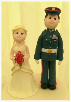 British Army wedding toppers :)