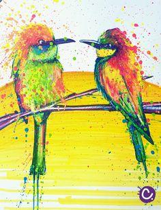 Les 31 Meilleures Images Du Tableau Cynthia S Birds Dessins D