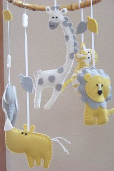 Baby Mobile  Baby Crib Mobile  Jungle Mobile  by lollipopmoon, $60.00  February 2015
