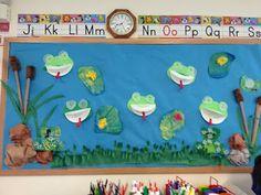 Discovery Kidzone Montessori Adventures: Weekly Kid's Co-op Week of 3.16.12 March Monet