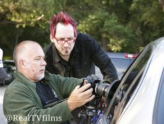 Royce Dudley, Paul Morrell, Salvaged Series Production, Day 1 of 5 by Real TV Films, via Flickr