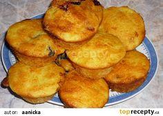 Cuketové muffiny recept - TopRecepty.cz Cornbread, Zucchini, Breakfast, Ethnic Recipes, Food, Millet Bread, Morning Coffee, Essen, Meals