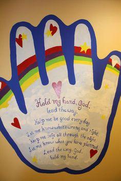 church nursery | Murals by Lisa - Church Nursery
