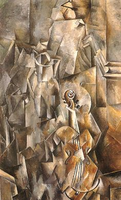 picasso. Love the cubist movement