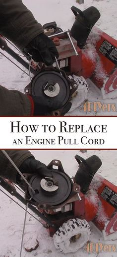 This is a generic procedure which applies to most small engines with some small differences.