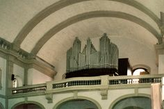 Church pipe organ of Our Lady of the Rosary of Fatima, Sao Paulo, Brazil | Made in Germany with the pneumatic drive system by the factory Gebrüder Spaeth in 1908 and installed in the São Bento Monastery in Sao Paulo | In 1956 it was transferred to the Shrine of Our Lady of the Rosary of Fatima, restored and expanded with a new console Walker, the organ maker Reiner Michels