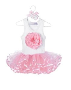 Your little blossom will look so cute in this tutu dress by Mud Pie. The white jersey racerback tank top features a giant pink blossom with a rhinestone center. The skirt is a satin ribbon-edged tutu made from organza. Tutu En Tulle, Pink Tutu Dress, Baby Dress, Tutu Dresses, Pink Tulle, Girls Special Occasion Dresses, Girls Dresses, Little Girl Fashion, Kids Fashion