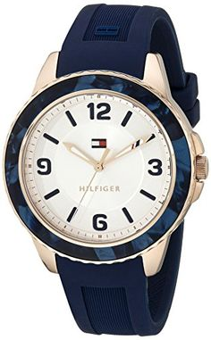 fec8425d7f0 Tommy Hilfiger Women s 1781539 Everyday Sport Analog Display Quartz Blue  Watch Tommy Hilfiger http