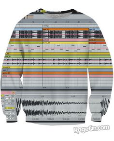 This Ableton Live Sweatshirt Shows my Current Play Personality of Creativity. Since I like to create, making music is a Voluntary Quality of Play.
