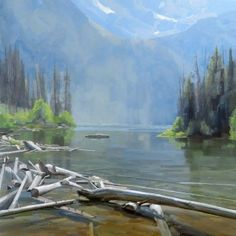 Meet Colorado landscape painter Dave Santillanes and learn about his life and inspiration as a plein-air artist with a lifelong love of the outdoors. Mountain Landscape, Landscape Art, Landscape Paintings, Landscapes, Watercolor Pictures, Outdoor Paint, Mountain Paintings, Seascape Paintings, Creative Art