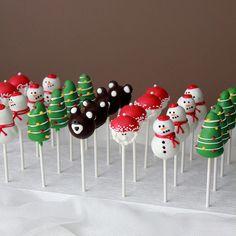Cake Pops Christmas Ideas Holidays Ideas For 2019 Holiday Cakes, Holiday Treats, Christmas Treats, Christmas Baking, Christmas Cookies, Christmas Cake Pops, Christmas Deserts, Noel Christmas, Xmas