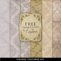 Far Far Hill: Freebies Old Style Papers
