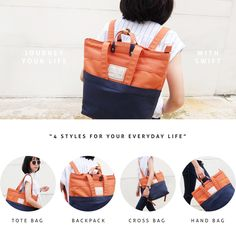 Limited Edition of the Popular Tathata Swift 4-way Carry Bags