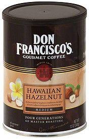 Don Franciscos Gourmet Coffee - hawaiian hazelnut