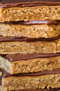 Chocolate Frosted Peanut Butter Bars | Cooking Classy