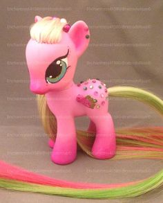 Custom OOAK G4 My Little Pony Toy MLP Spring Fever by RetroDollsUS