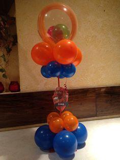 Balloon decoration paw patrol