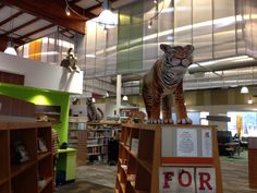 Whimsical, inviting entry to Scott Valley Library