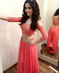 32 Best Sanjeeda Sheikh Hot Photos Sexy Bikini Pics Rare Navel Show Indian Attire, Indian Wear, Indian Dresses, Indian Outfits, Beautiful Dresses, Nice Dresses, Choli Dress, Lehenga Choli, Dress Skirt