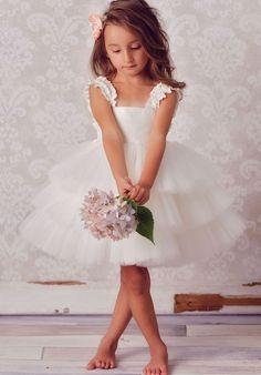 ef4db0c1c24 FATTIEPIE. Little Girls Fancy DressesCute Flower ...