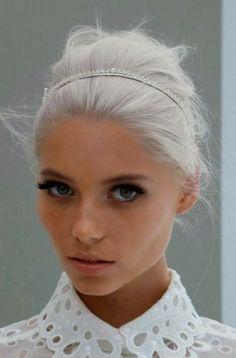 platinum white blonde hair - Google Search