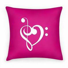 Music Diy Bedroom Throw Pillows 16 New Ideas Diy Pillows, Custom Pillows, Throw Pillows, Funny Pillows, Music Bedroom, Diy Bedroom, Music Studio Room, Heart Pillow, Music Gifts