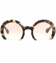 Round sunglasses | Miu Miu