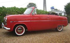 1955 English Ford Consul Convertible