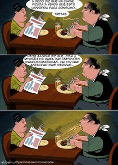Cartoon: A congestão