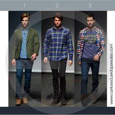 ¿1, 2 ó 3? ¿Cuál es tu look favorito?