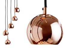 Austin Cluster Pendant, Copper