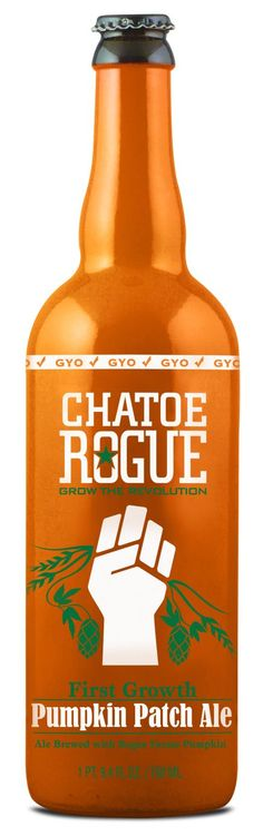 Chatoe Rogue Pumpkin Patch Ale: they grow their own pumpkins AND hops! I soooo feel the need to try!