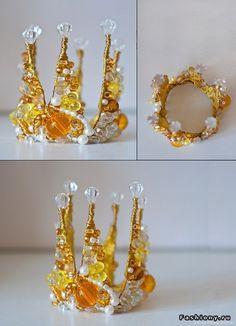 Короны своими руками золотые