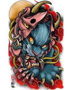 Japan Tattoo Design, Sketch Tattoo Design, Tattoo Sleeve Designs, Tattoo Sketches, Tattoo Drawings, Sleeve Tattoos, Japon Illustration, Japanese Illustration, Tattoo Illustration