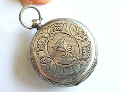 Antique French Aiguilles Key Wind Pocket Watch Silver Case Do You Want To Buy Some Chinese Native Produce?