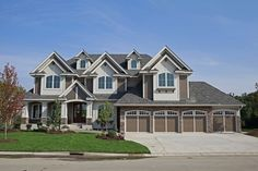 Dad's Dream Home Plan - 73340HS | 2nd Floor Master Suite, Butler Walk-in Pantry, CAD Available, Craftsman, Den-Office-Library-Study, Exclusive, Loft, Luxury, MBR Sitting Area, Media-Game-Home Theater, Multi Stairs to 2nd Floor, Northwest, PDF, Photo Gallery, Premium Collection, Sport Court | Architectural Designs