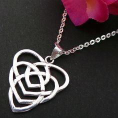 Celtic+Motherhood+Knot+Jewelry+Necklace+by+yhtanaff+on+Etsy,+$55.00